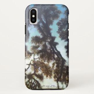 Baum u. Himmel iphone X Fall iPhone X Hülle