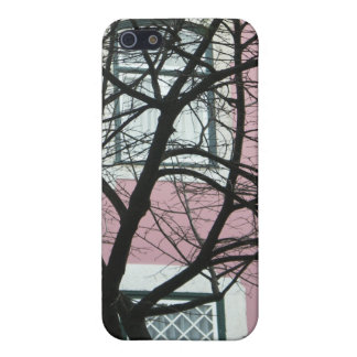 Baum und Haus iPhone 4 Fall iPhone 5 Etui