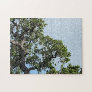 Baum-und Himmel-Puzzlespiel Puzzle