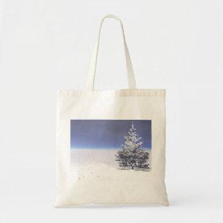 Baum- und Schneeweiß Tragetasche