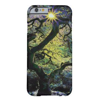 Baum- und Sonnenscheingrafik b Barely There iPhone 6 Hülle