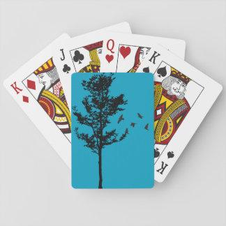 Baum-und Vogel-Spielkarten Spielkarten