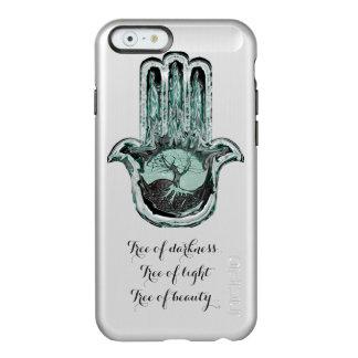 Baum von hellem und von Dunkelheit (grünlich) Incipio Feather® Shine iPhone 6 Hülle