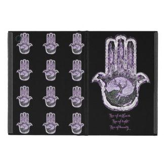 Baum von hellem und von Dunkelheit (purpurartig) iPad Mini Schutzhüllen