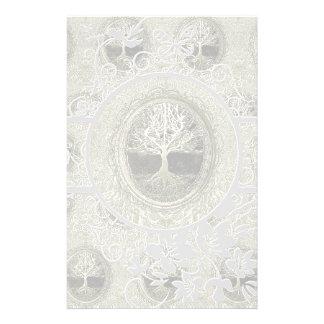 Baum von Leben-Einfachheit Bedrucktes Papier