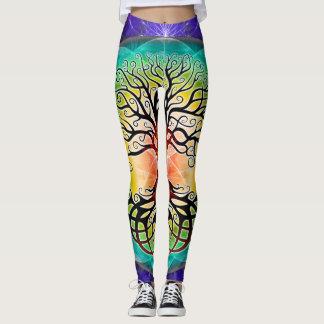 Baum von Leben-Gamaschen Leggings