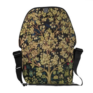 Baum Williams Morris LebenVintagen Pre-Raphaelite Kurier Tasche