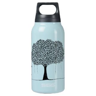 Baum-Zitat Isolierte Flasche