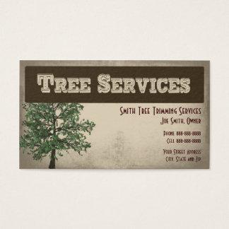 Baum-Zutat-Sorgfalt hält Visitenkarte instand