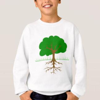 Baumaste und Wurzeln Sweatshirt