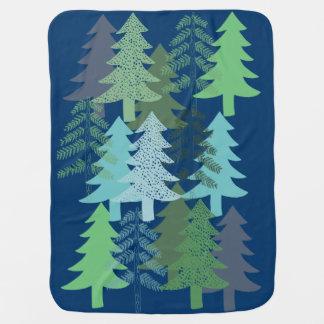 Bäume auf Blau Puckdecke