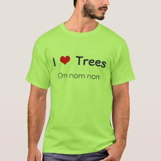 Bäume des Herzens I, OM nom nom T-Shirt