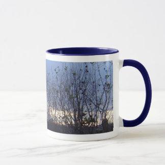 Bäume im Winter Tasse