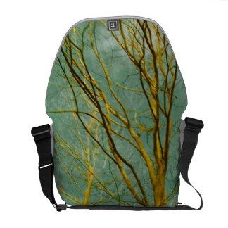 Bäume Kurier Tasche