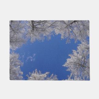 Bäume und Himmels-Tür-Matte Türmatte