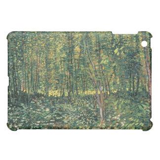 Bäume Vincent van Goghs   und Unterholz, 1887 iPad Mini Hülle