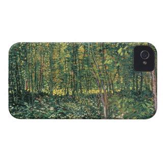 Bäume Vincent van Goghs   und Unterholz, 1887 iPhone 4 Hüllen