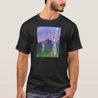 Bäume vor Bergen II T-Shirt