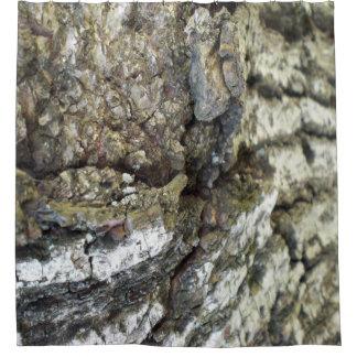 Baumrinde-Duschvorhang Duschvorhang