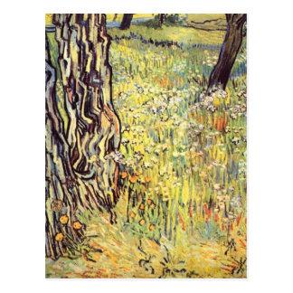 Baumstämme durch Vincent van Gogh Postkarte