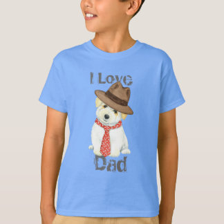 Baumwolle de Tulear Dad T-Shirt