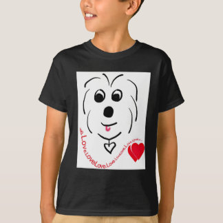 Baumwolle de Tulear Love T-Shirt
