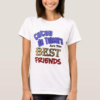 Baumwolle de Tulears Are die besten Freunde T-Shirt