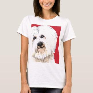 Baumwollfarbblock T-Shirt