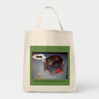 Baumwolltwill-Lebensmittelgeschäft-Tasche mit Tragetasche