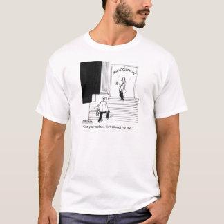 Bauschlosser vergisst seine Schlüssel T-Shirt