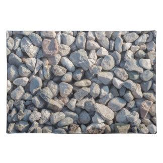 Bausteine im Steinbruch Tisch Set
