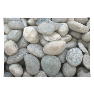 Bausteine im Steinbruch Tischset