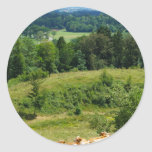 Bavarian Countryside Stickers