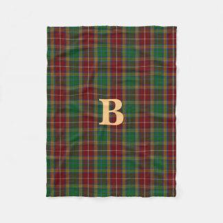 Baxter-Clantartan-karierte Fleece-Decke Fleecedecke