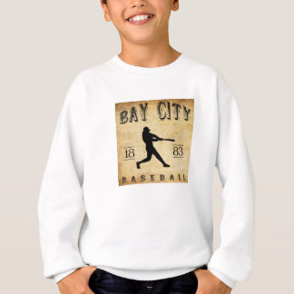 Bay-City Michigan Baseball 1883 Sweatshirt