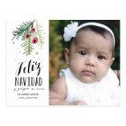 Bayas Rojas | Feliz Navidad | Tarjeta Post Postkarte