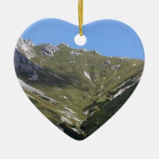 Bayerische Alpen nähern sich Berchtesgaden Keramik Ornament