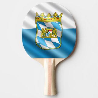 Bayerische Flagge Tischtennis Schläger