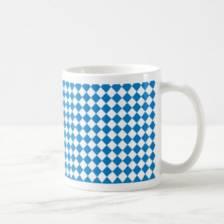 bayerische Rauten Kaffeetasse