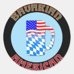 Bayerischer Amerikaner Stein Sticker