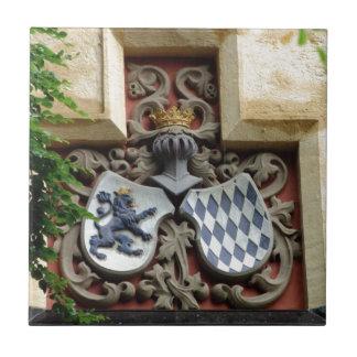 Bayerisches Wappen Fliese