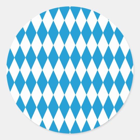 Bayern Bavaria Oktoberfest Runder Aufkleber