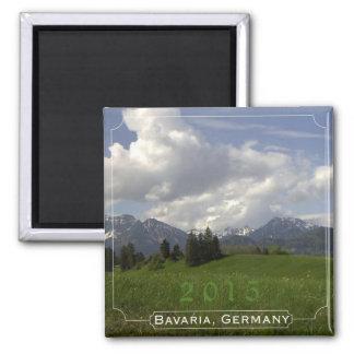 Bayern-Deutschland-Andenken-Magnet-Änderungs-Jahr Quadratischer Magnet