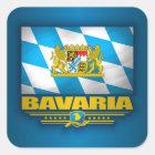 Bayern Quadratischer Aufkleber