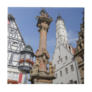 Bayern Rothenburg ob der Tauber Fliese