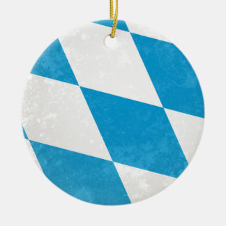 Bayern Rundes Keramik Ornament