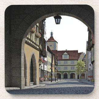 Bayern-Stadt durch einen Bogen Untersetzer
