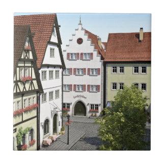 Bayern-Stadt von oben Fliese