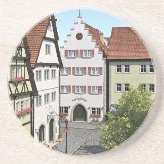 Bayern-Stadt von oben Getränkeuntersetzer