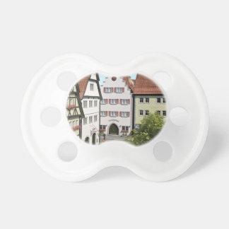 Bayern-Stadt von oben Schnuller
